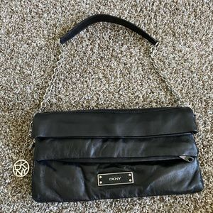 DKNY leather purse